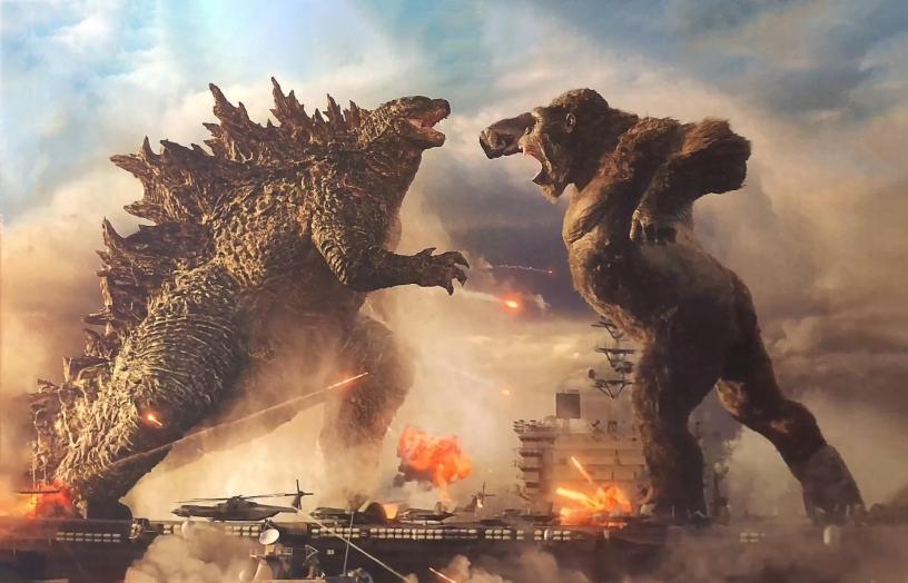 Godzilla fights King Kong in Legendary Pictures' upcoming 2021 blockbuster Godzilla Vs Kong