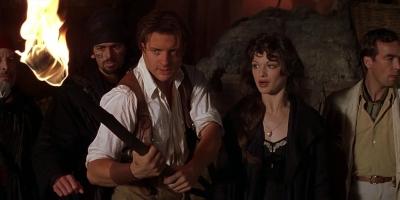 The Mummy 1999 Brendan Fraser Rachel Weisz Universal Monster Horror Movies Action Adventure
